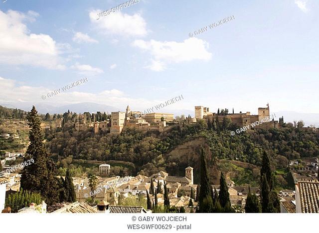 Spain, Andalusia, Albaicin