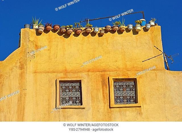 Facade, Fes, Middle Atlas, Morocco