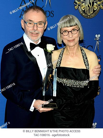 Jon Toll and Lois Burwell attends the 30th Annual ASC Awards for Outstanding Achievement in Cinematography at the Hyatt Regency Century Plaza on Saturday 13