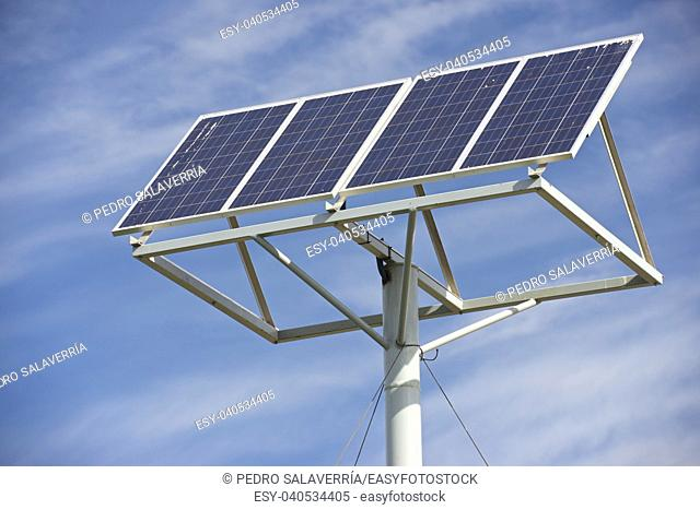 Photovoltaic panel for renewable energy production