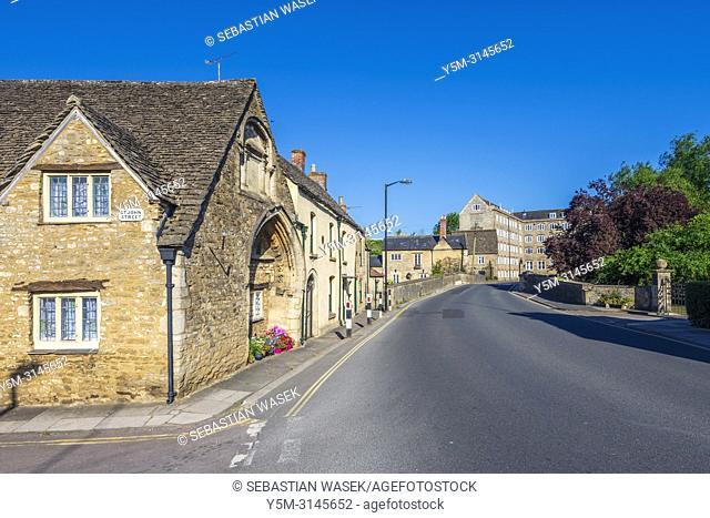 St John's Court, Malmesbury, Wiltshire, England, United Kingdom, Europe