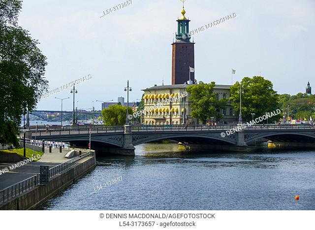 City Hall Old Town tourist destination in Stockholm is the capital and largest city of Sweden