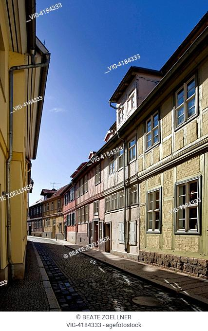 Quedlinburg - Quedlinburg, Sachsen-Anhalt, Germany, 01/01/2011