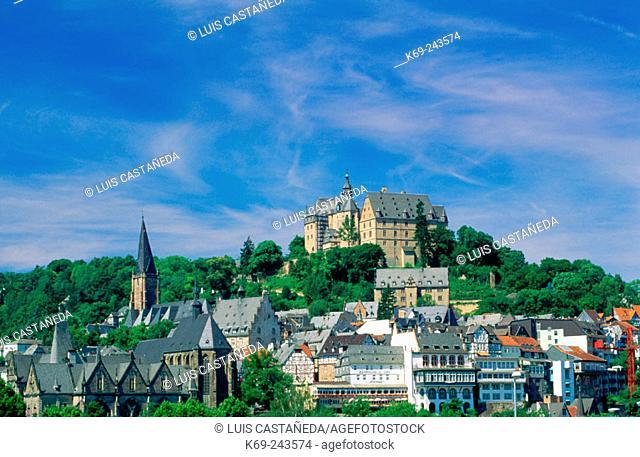 Marburg An Der Lahn. Germany