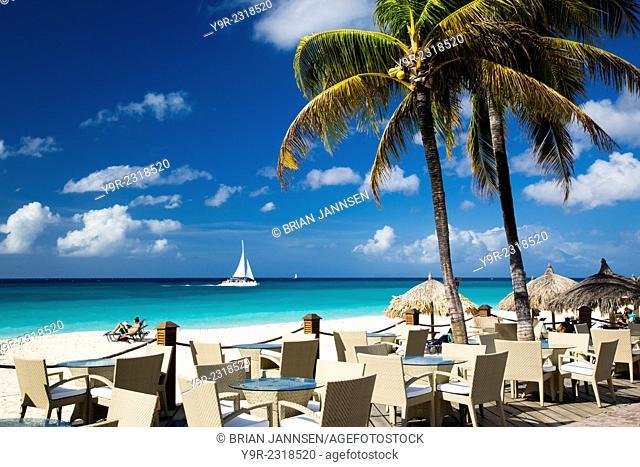 Divi Resort near Oranjestad, Aruba, West Indies