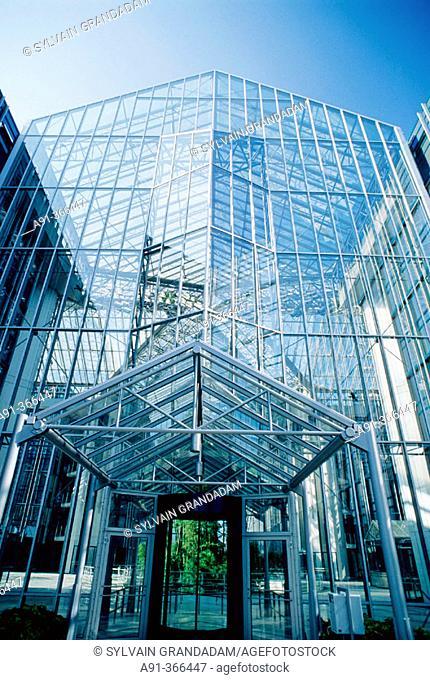 Office building. Munich. Bavaria, Germany