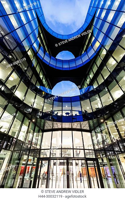 England, London, Southwark, London Bridge City, 7 More London Riverside Office Building, Price Waterhouse Coopers