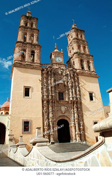 Parish church (18th century) where Miguel Hidalgo uttered his famous cry for the independence of Mexico, Dolores Hidalgo. Guanajuato, Mexico