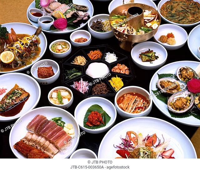 Small plate, Court meal, dish, Gyeongju, South Korea