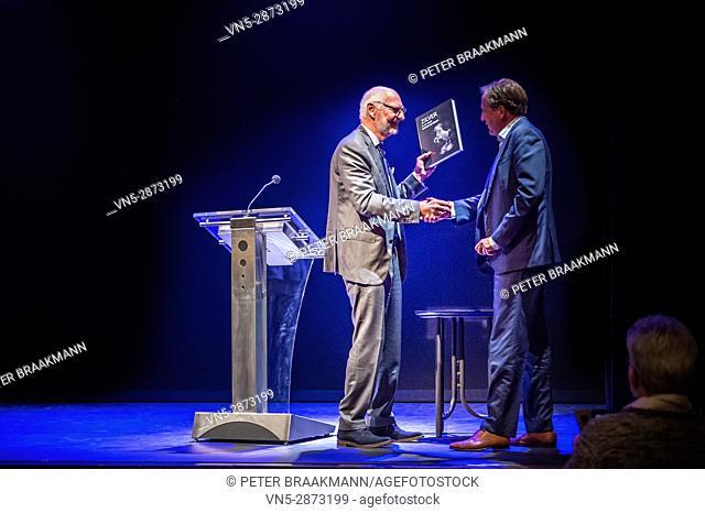 BERGEN OP ZOOM - THE NETHERLANDS - Opening exhibition about silver by Alexander Pechthold in theatre De Maagd Bergen op Zoom