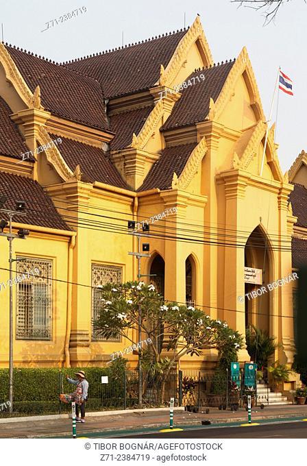 Thailand, Bangkok, Wat Mahathat, buddhist temple