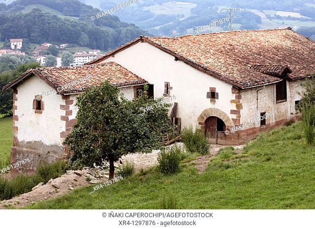 Iturbide Palace, Aitzano Quarter, Gartzain, Baztan Valley, Navarra Nafarroa, Spain España