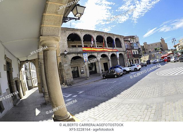 City Hall, Main Square of Maldonado, Old Town, Béjar, Salamanca, Castilla y León, Spain, Europe