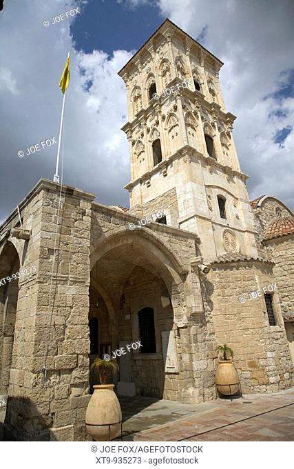 St Lazarus Church with belfry larnaca republic of cyprus europe