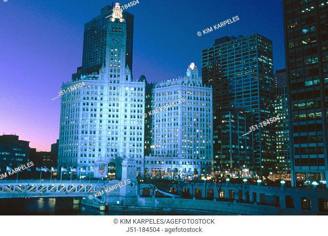 Wrigley Building. Chicago. USA