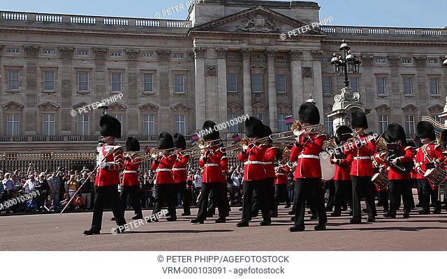 Band at Buckingham Palace London