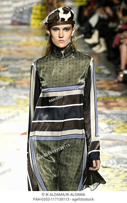 House of Holland runway show during London Fashion Week, AW19, Autumn Winter 2019 collection - London, UK 16/02/2019 | usage worldwide