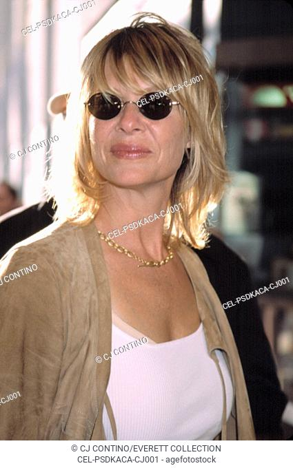 Kate Capshaw at the premiere of THE CHATEAU, 8/6/2002, NYC, by CJ Contino