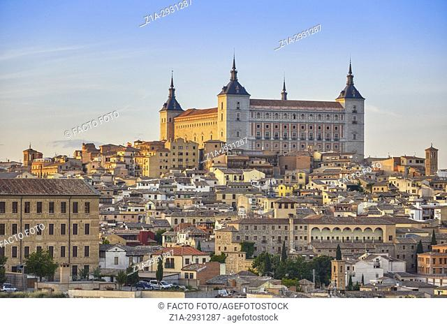 Alcazar of Toledo. Toledo. Castile-La Mancha. Spain