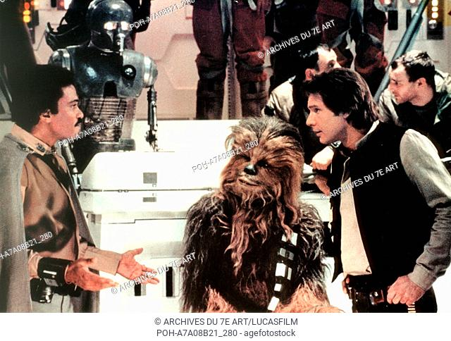 Star Wars: Episode VI - Return of the Jedi  Year : 1983 USA Billy Dee Williams, Harrison Ford, Peter Mayhew  Director: Richard Marquand