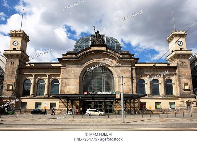 Main station, Dresden, Saxony, Germany, Europe