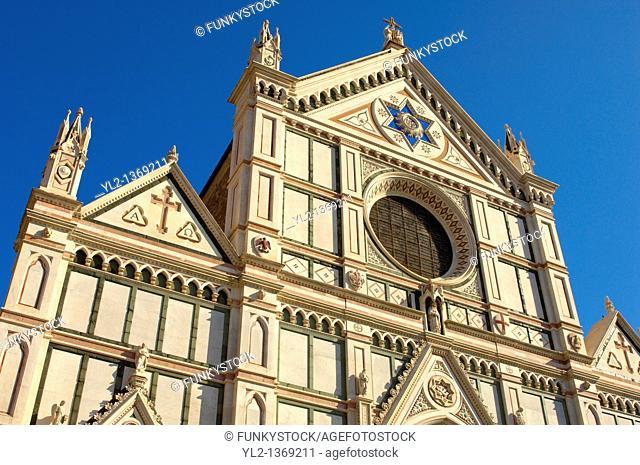 Basilica of Santa Croce, Florence, Tuscany, Italy