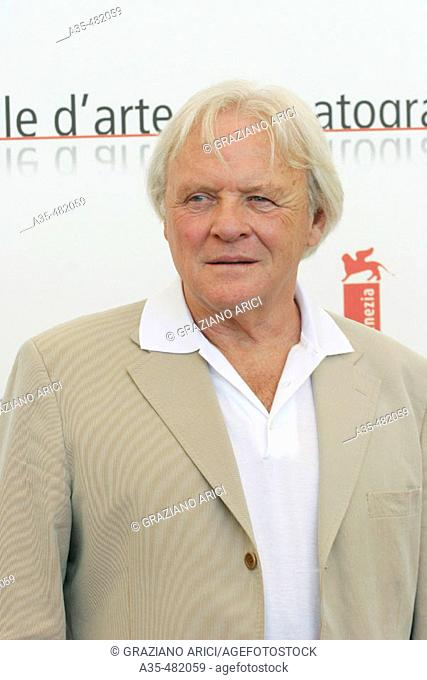 62nd Venice Film Festival (05/09/05): Film 'Proof' - actor Anthony Hopkins