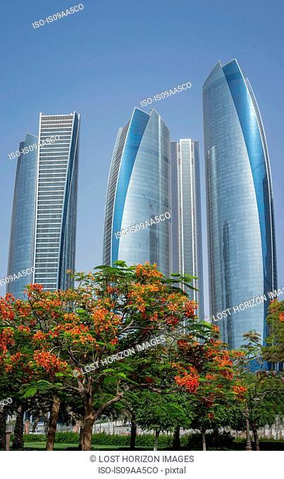Etihad Towers, Adu Dhabi, United Arab Emirates