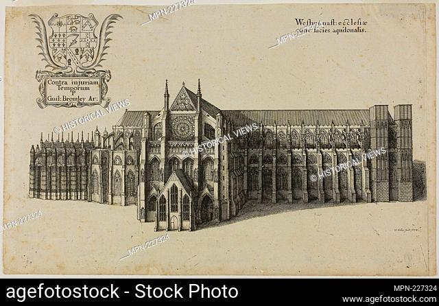 View from the North Westminster Church - Wenceslaus Hollar Czech, 1607-1677 - Artist: Wenceslaus Hollar, Origin: Bohemia, Date: 1627-1677