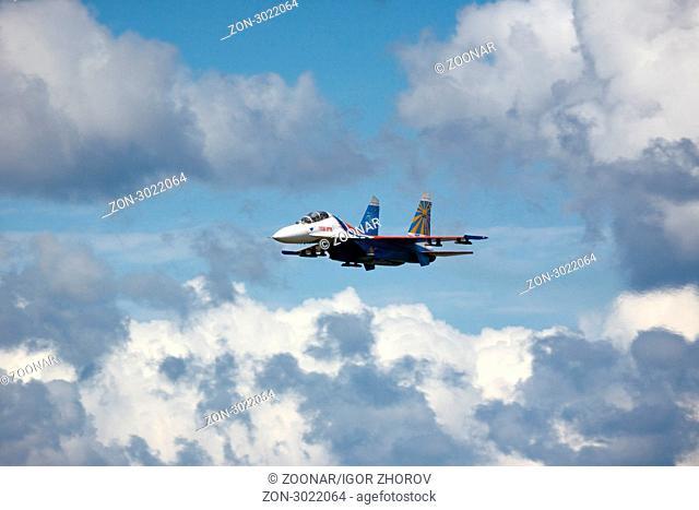 Air show, Novosibirsk
