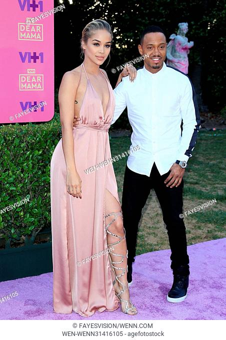 VH1's 2nd Annual 'Dear Mama: An Event To Honor Moms' - Arrivals Featuring: Jasmine Sanders, Terrence J Where: Pasadena, California