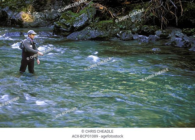 fly fishing, British Columbia, Canada