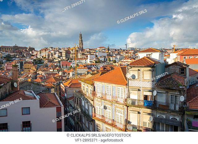 Porto old town. Oporto city, Porto district, Portugal, Europe