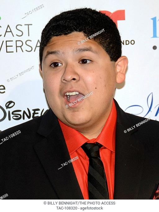 Rico Rodriguez arrives at the 30th Annual Imagen Awards on August 21, 2015 in Los Angeles, California