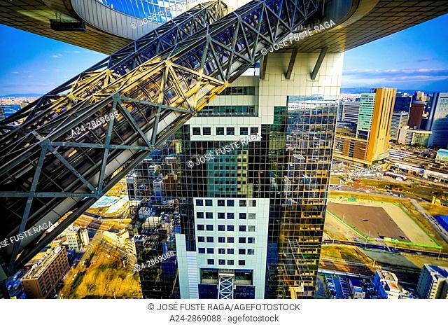 Japan,Kansai, Osaka City, Umeda area, Sky Bldg