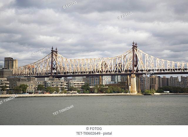 USA, New York State, New York City, Queensboro Bridge