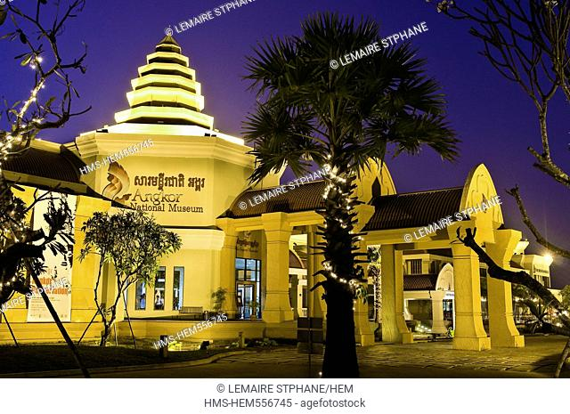 Cambodia, Siem Reap Province, Siem Reap town, Angkor National Museum