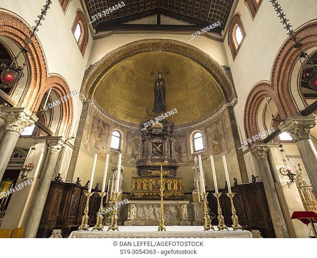 Santa Maria e San Donato Basilica, Island of Murano, Venice, Italy