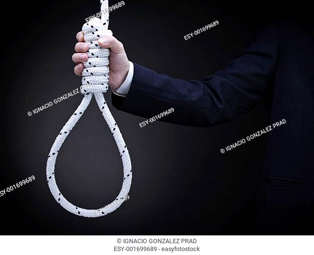 Holding the noose