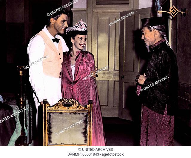 Weißer Herrscher über Tonga, (HIS MAJESTY O'KEEFE) USA 1953, Regie: Byron Haskin, BURT LANCASTER, JOAN RICE, BENSON FONG