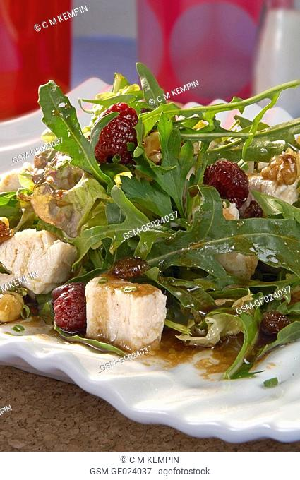 Turkey and dried fruit salad