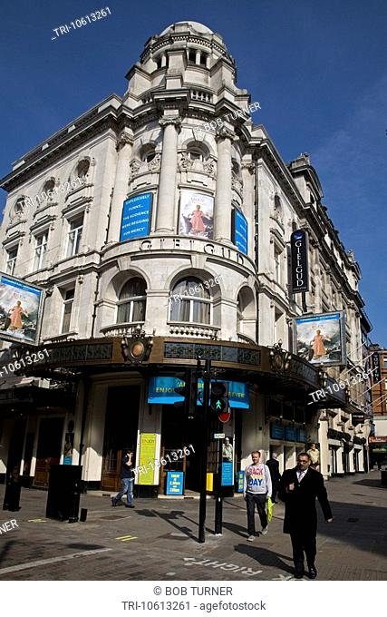 Gielgud Theatre Shaftesbury Avenue Soho London England