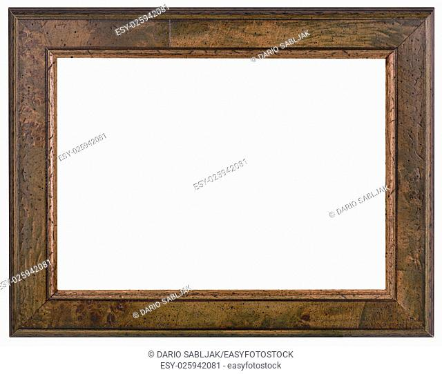 Old Wooden Patina Picture Frame