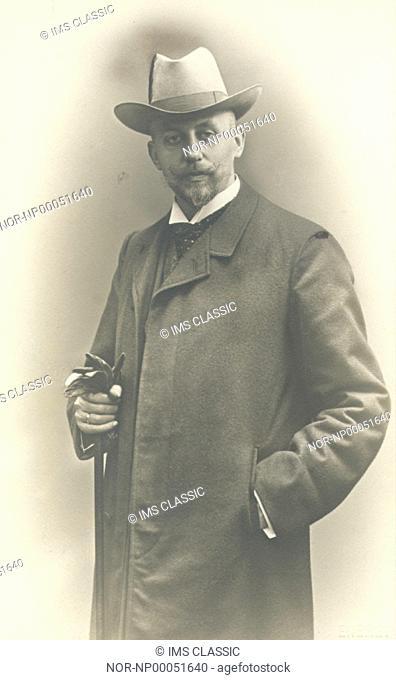 Portrait of Hj Bergström
