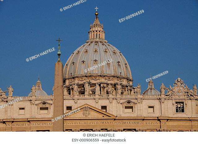 Saint Peters Cathedral in Rome