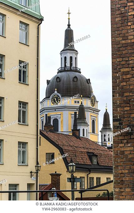 Baroque St Catherine Church, Sodermalm, Stockholm, Sweden