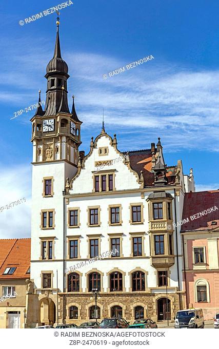 Town hall, Hustopece, Southern Moravia Czech Republic