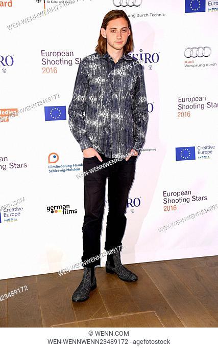 66th Berlin International Film Festival (Berlinale) - European Shooting Stars 2016 - Photocall - at 25hours Hotel Bikini