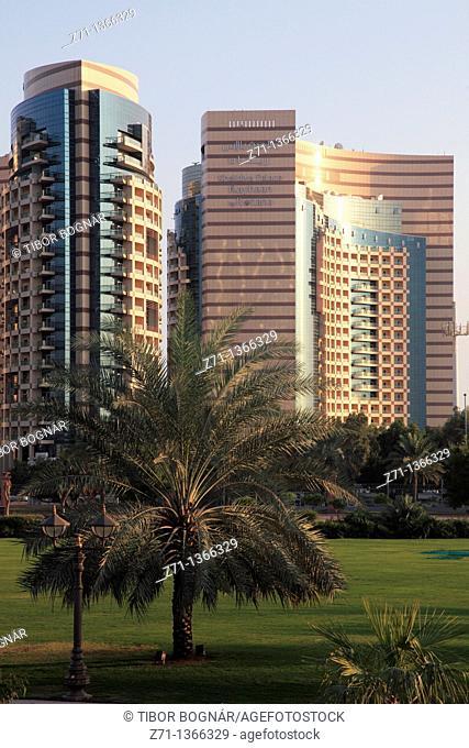 United Arab Emirates, Abu Dhabi, Khalidiya Palace Hotel