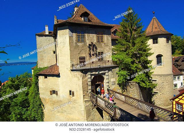 Meersburg, Castle, Lake Constance, Bodensee, Baden-Wuerttemberg, Germany, Europe